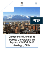 Newsletter n1 Cmude Español 2012