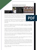 Dabbawala Shares Secret of Success