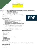 Estudiar miologia