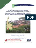 Estudio Amenaza Vulnerabilidad y Riesgo-Sevilla Valle Del Cauca