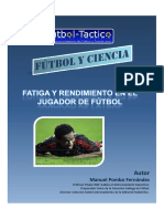 Fatiga y rendimiento en el jugador de fútbol