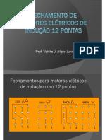 Fechamento de motores elétricos 12 pontas