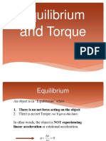 Equilibrium Torque