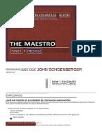 The Maestro Fascination Advantage Report JOHN SCHOENBERGER(Spanish)