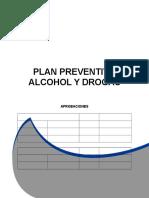Plan Preventivo Alcohol y Drogas