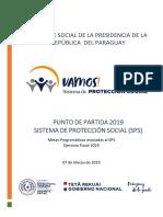 Sistema de Protección Social VAMOS de Paraguay