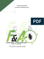 Protocolos Control de Plagas
