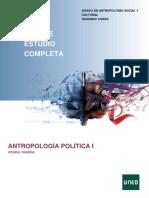 Guía 1819 Completa Antropologia Politica 1 70022055 - UNED