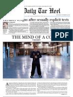 The Daily Tar Heel for November 18, 2010