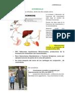 ACROMEGALIA y Diabetes Insipida