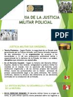Historia de La Justicia Militar Policial