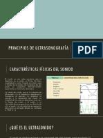Principios de Ultrasonografía