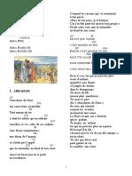 Carnet de Chant FaMVD