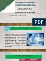 5° Marcha analitica de cationes