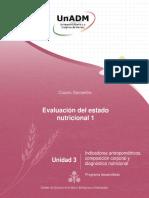 Evaluación del estado nutricional