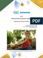 Modulo Impacto Social, Inclusion y Contexto