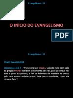 Evangelismo 14