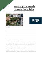 Convivencia conjuntos residenciales