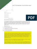 Evaluaciones Unidad Dos - Derecho Mercantil y de Sociedades