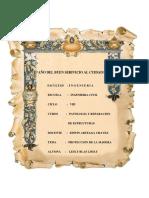 Informe de Maderaa