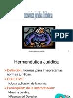 Hermeneutica Juridica 2013