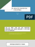 Ley Del Adulto Mayor en Colombia