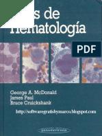 Atlas de Hematologia - McDonald 5ed