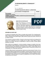 Edipo Rey Obra Literaria 1ro Bachillerato k