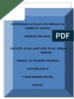 Finanzas Privadas Manual