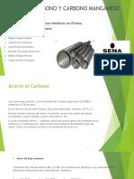 Aceros Al Carbono y Carbono - Manganeso