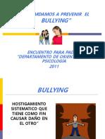prevenir el Bulling