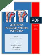 Patología Arterial Periférica