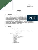 Chemistry Lab Report
