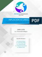 Inflación acumulada