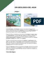 Accion Geologica Del Agua --