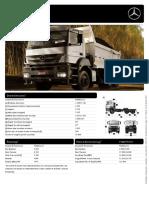 4.1- Caminhão Pipa - Axor 3344 6x4 Basculante V3