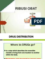 Distribusi Obat dalam Tubuh