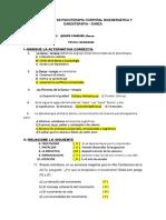 Evaluacion de Psicoterapia Corporal Bioenergetica y Danzaterapia