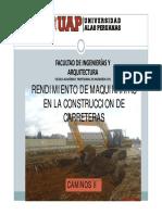 SEMANA 2.1  RENDIMIENTOS DE MAQUINARIAS.pdf