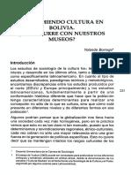 Consumo de bienes culturales en Bolivia