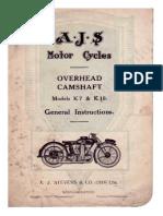 AJS K7 K10 OHC (1928)--