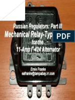 K-750 M-72 for Dnepr 6 Volt Relay Regulator PP302 Ural MT 650 cc