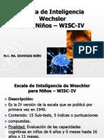 Escala Wisc IV
