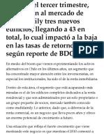 2019 10 14 - La TerceraPM - Negocio de Renta Residencial Marca Un Hito- Supera Las 10.000 Unidades de Departamentos