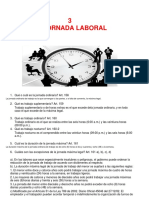 La Jornada Laboral (Cuestionario)