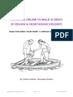 Problematiche dentali vegane