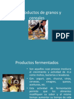 productos fermentados y no fermentados