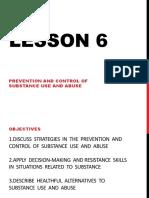 Lesson 6 Health (2nd Quarter)
