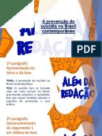 Aula - A Prevenção Do Suicídio No Brasil Contemporâneo