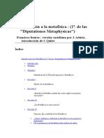 Suarez Francisco - Introduccion A La Metafisica.DOC